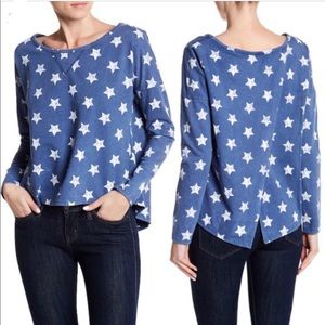 Poof! / Stars Graphic Sweatshirt